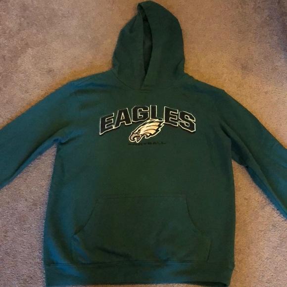 best sneakers 42cb3 ed1bf Youth Philadelphia Eagles Hoodie